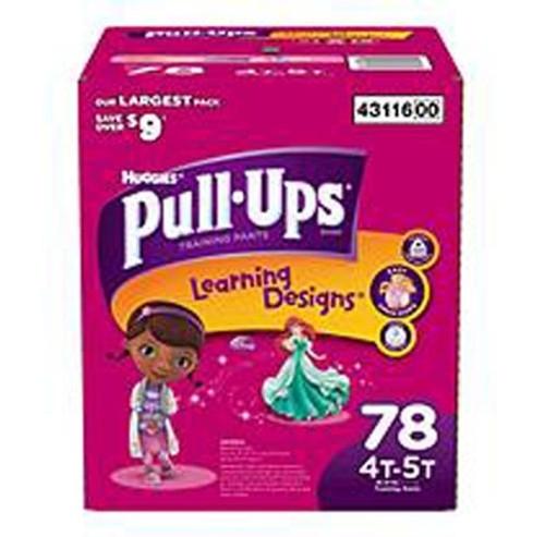 Kimberly Clark Pull-Ups Training Pants 9