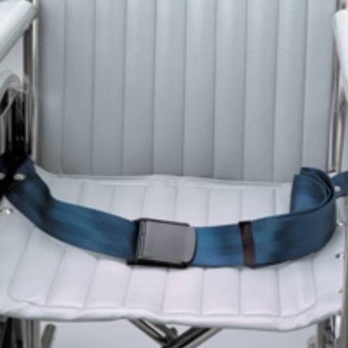 Chair Waist Belt Restraint, Airplane Buckle - 1-Strap