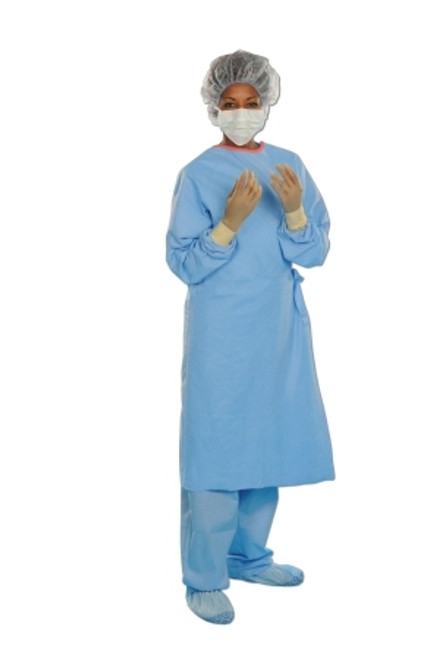 Surgical Gown with Towel AERO BLUE Unisex AAMI Level 3 Sterile Blue