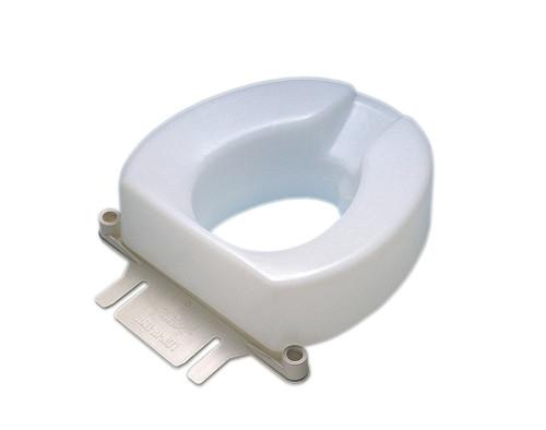 Bolt-Down Bracket For Raised Toilet Seat