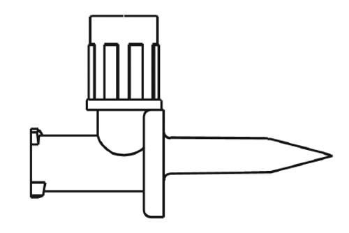 B. Braun Mini-Spike IV Additive Dispensing Pin