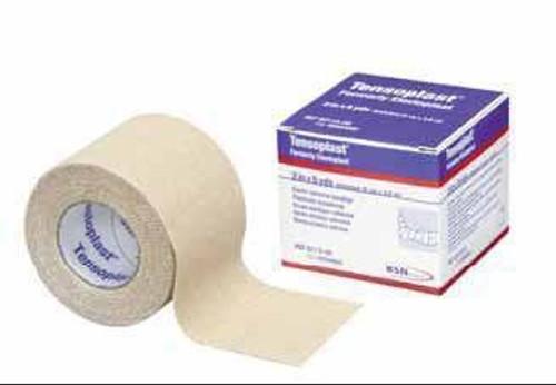 Elastic Adhesive Bandage Tensoplast  Yard Medium Compression No Closure Tan NonSterile