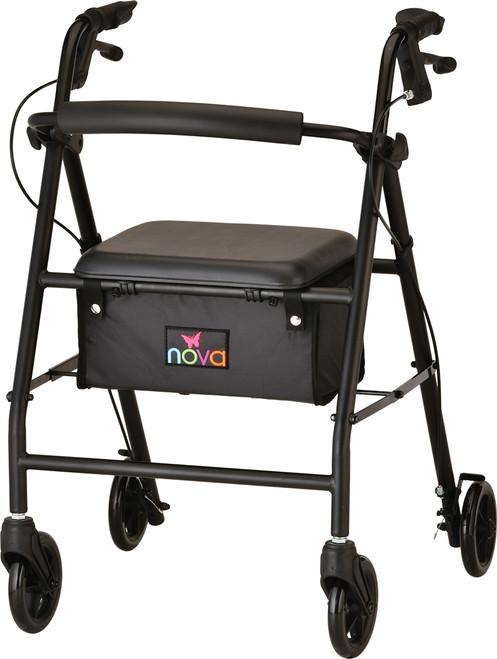 vibe 6s steel rolling walker