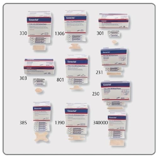 Adhesive Spot Bandage Coverlet Diameter Fabric Tan Sterile