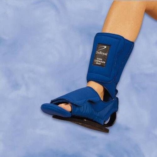 Foot Drop Brace DeRoyal Large Hook and Loop Closure Left or Right Foot