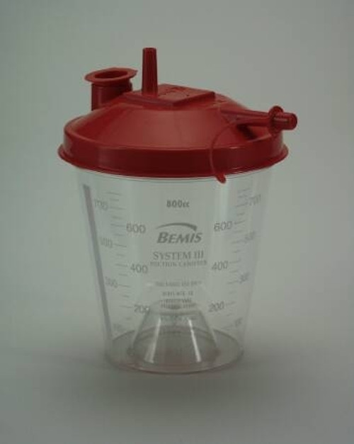 Bemis Healthcare Hydrophobic Rigid Suction Canister