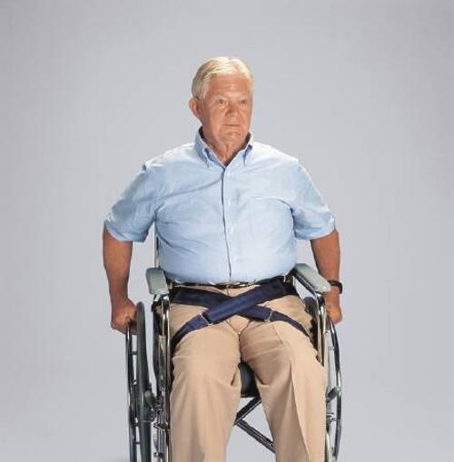 Wheelchair Safety Belt, Self-Releasing