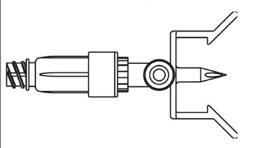 B. Braun Mini Spike Dispening Pin