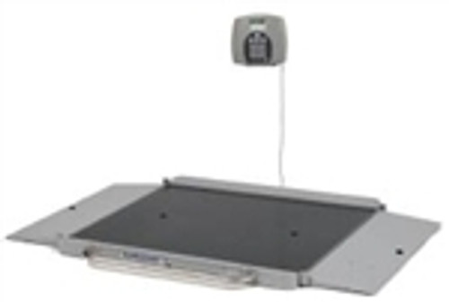 Portable Health-O-Meter Wheelchair Scale w/ Digital LCD