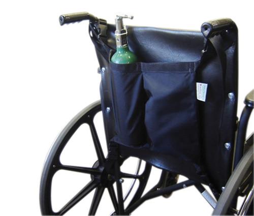 wheelchair accessory mini oxygen tank holder