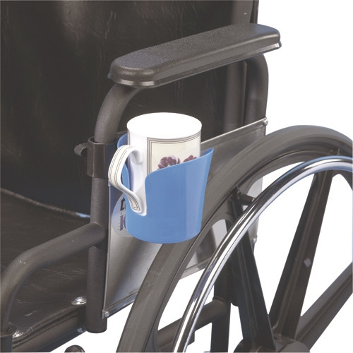 wheelchair accessory clampon cup holder