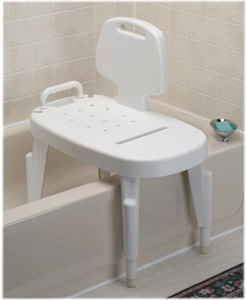 Adjustable Shower Transfer Bench