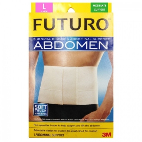 3M FUTURO Surgical Binder and Abdominal Support, Medium