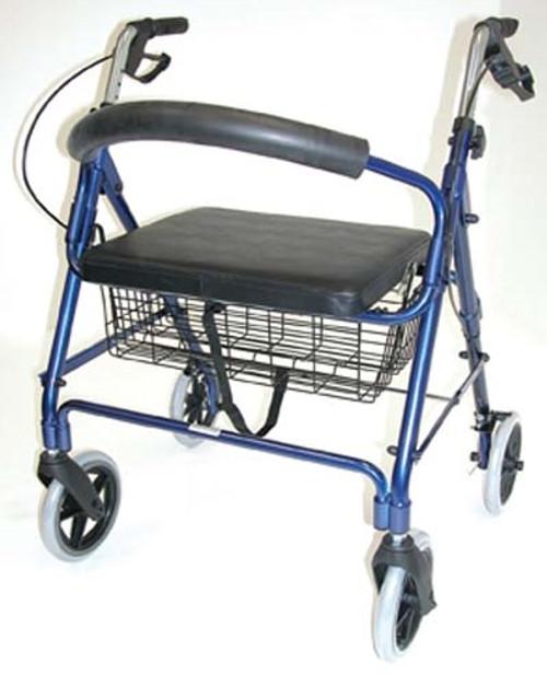 Lightweight Extra-wide Aluminum Rollator