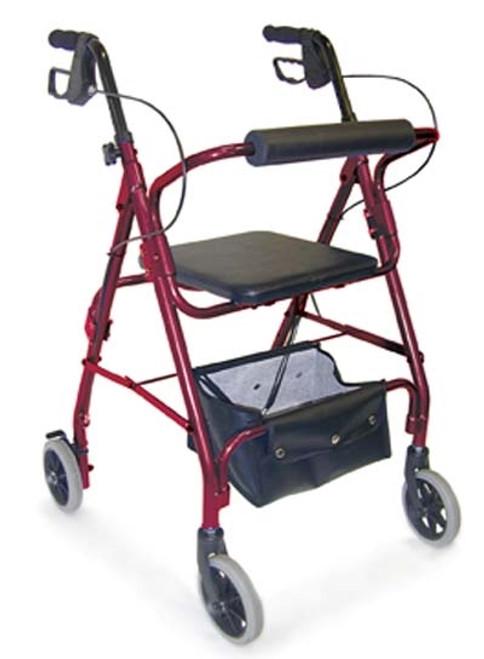 Lightweight Adjustable Rollator