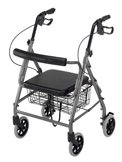Lightweight Folding Hemi Rollator