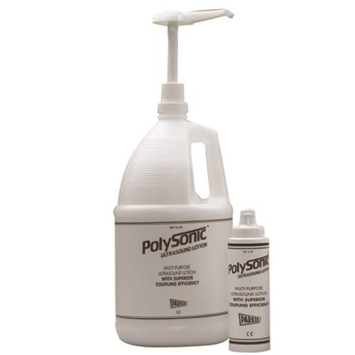 polysonic ultrasound lotion 250ml 8.5oz bottle