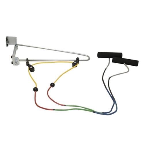 shoulder double pulley door bracket visualizer