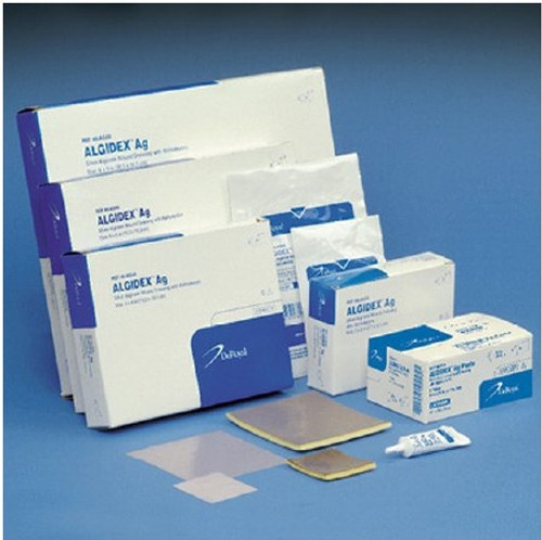 Alginate Dressing with Silver Algidex Ag Square Sterile