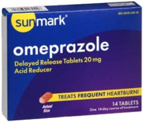 Omeprozole Antacid Tablets, sunmark