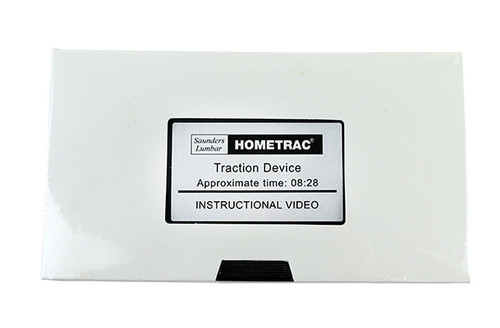 lumbar traction hometrac instructional video