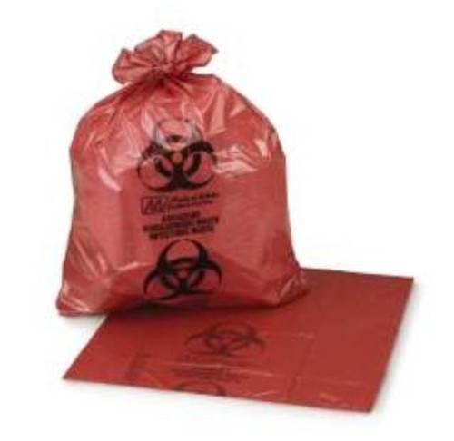 medi-pak ultra-tuff red infectious waste bags