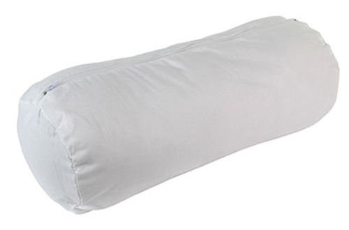 roll pillow additional white zippered cover