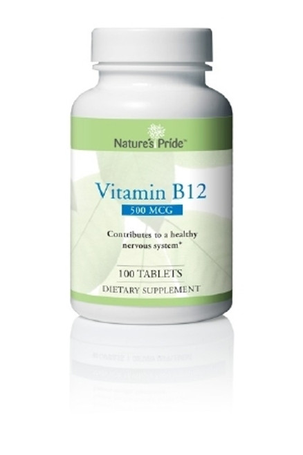 Nature's Products Natures Pride Vitamin B-12 Supplement