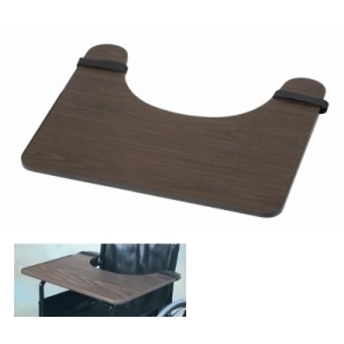 dmi wheelchair tray, hardwood