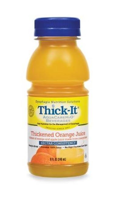 Thickend Orange Juice, Aquacare H20 - 8 oz.