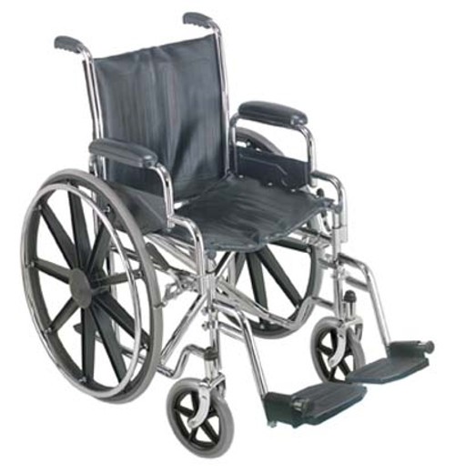 """18"""" Wheelchair with Removable Desk Arms"""