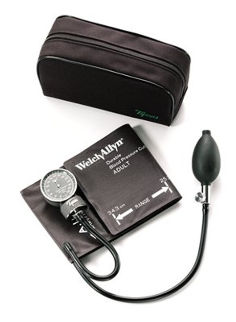 Welch Allyn Tyco Aneroid Sphygmomanometer With One Piece Adult Cuff