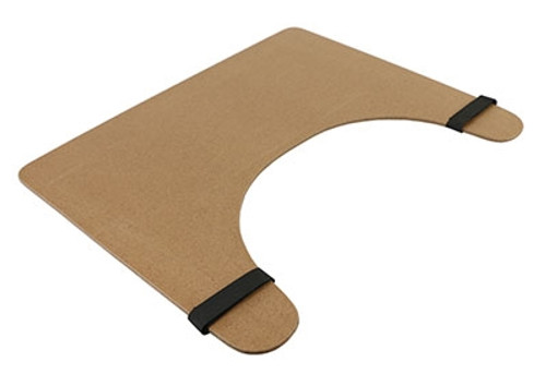 wheelchair tray rim straps 24 x 20 wood finish