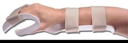 Hand Splint AliMed Thermoplastic Left Hand Medium