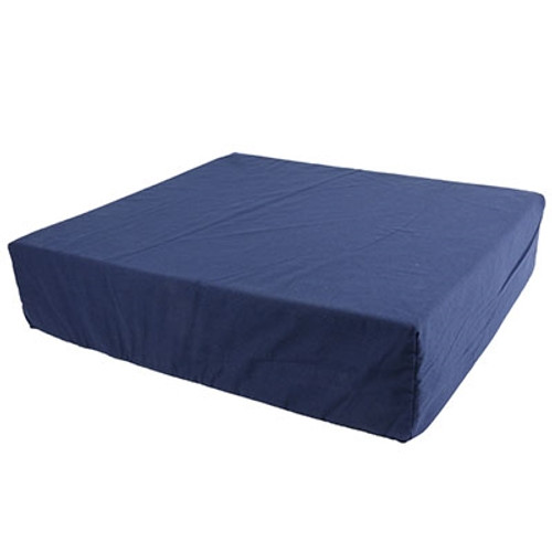 wheelchair cushion removable cover foam navy color