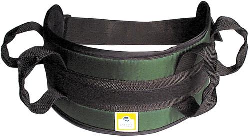 padded transfer belt auto buckle
