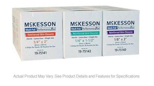 medi-pak performance plus reinforced skin closures