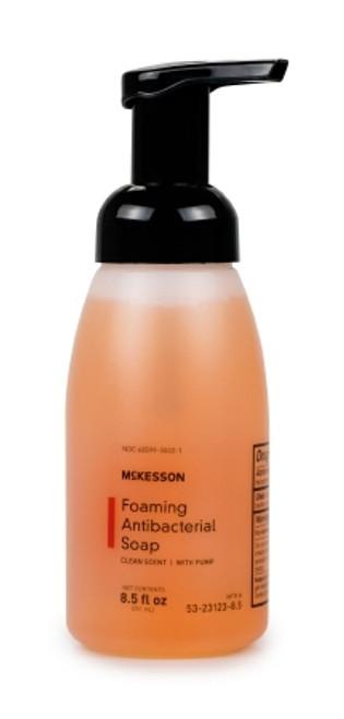 McKesson Foaming Antibacterial Soap Pump Bottle Clean Scent
