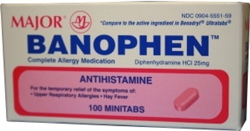 Allergy Relief Banophen