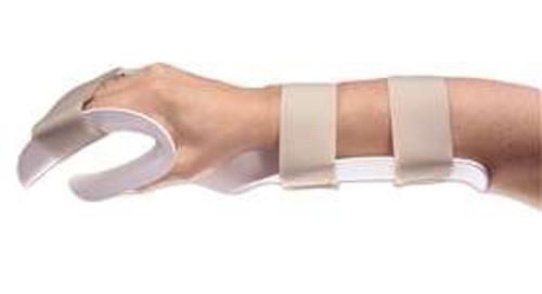 Wrist / Hand Splint Alimed Thermoplastic Right Hand Medium
