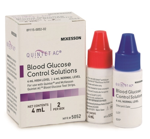 McKesson CONSULT Glucose Control Solution