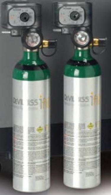 DeVilbiss iFill Oxygen Cylinder Size Aluminum