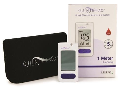 McKesson QUINTET AC Blood Glucose Meter