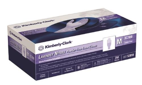 Halyard KC100 Lavender Exam Glove