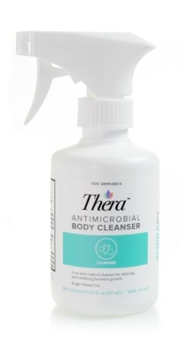 Thera Liquid Antimicrobial Body Wash 8 fl oz Spray Bottle Scented