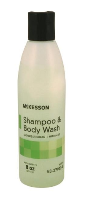 McKesson Shampoo and Body Wash Squeeze Bottle 8 Oz.