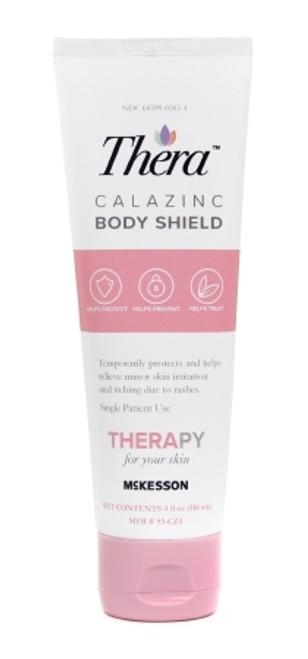 Thera Calazinc Body Shield Skin Protectant 4 oz. Tube Scented Cream