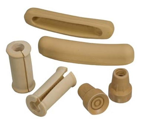 Split Handgrip Crutch Accessory Kit