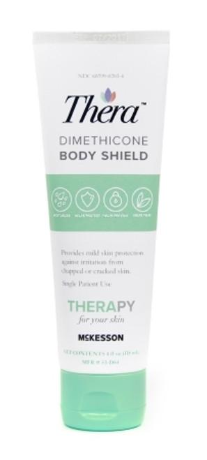 Thera Dimethicone Body Shield Skin Protectant 4 oz. Tube Scented Cream
