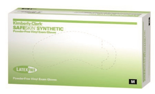 Exam Glove Halyard NonSterile Clear Powder Free Vinyl Ambidextrous Smooth Not Chemo Approved